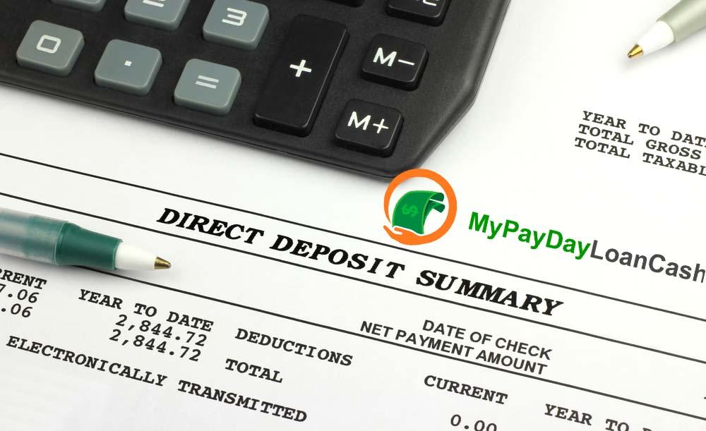 instant direct deposit loans